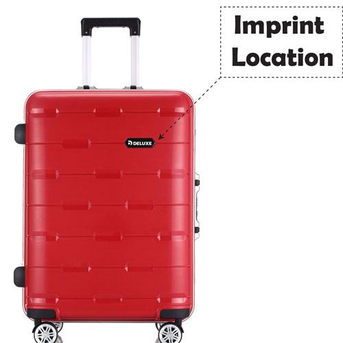 PP Aluminum Trolley Luggage Suitcase Imprint Image