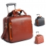 Synthetic Cowhide Commercial Trolley Case Image 3