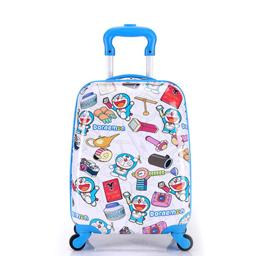 Boy Girl Cat Trolley Suitcase Image 4