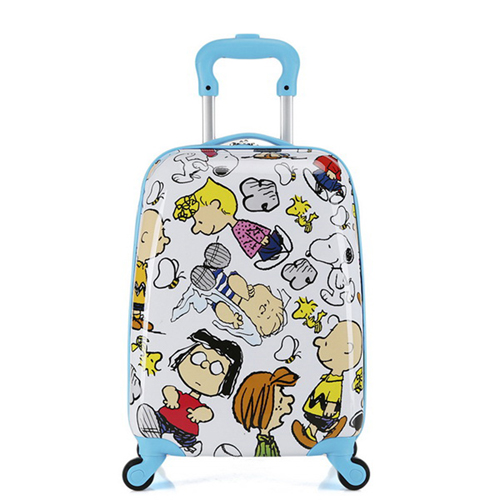 Boy Girl Cat Trolley Suitcase Image 5