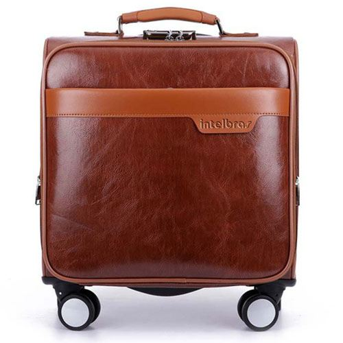 Men 16 Inch Trolley Board Suitcase Image 1