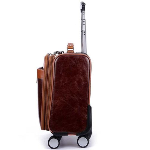 Men 16 Inch Trolley Board Suitcase Image 2