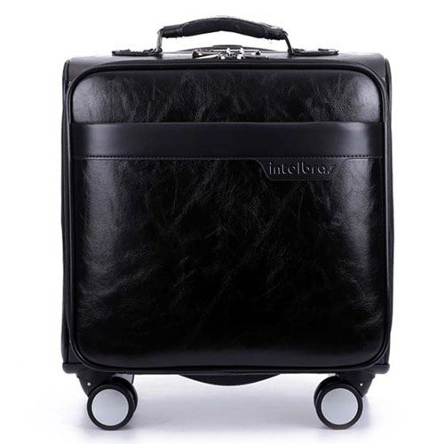 Men 16 Inch Trolley Board Suitcase Image 4