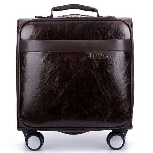 Men 16 Inch Trolley Board Suitcase Image 5