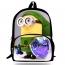 16-Inch Minions Printing School Bag Image 1