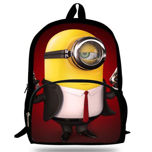16-Inch Minions Printing School Bag Image 2