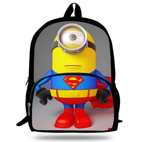 16-Inch Minions Printing School Bag Image 3