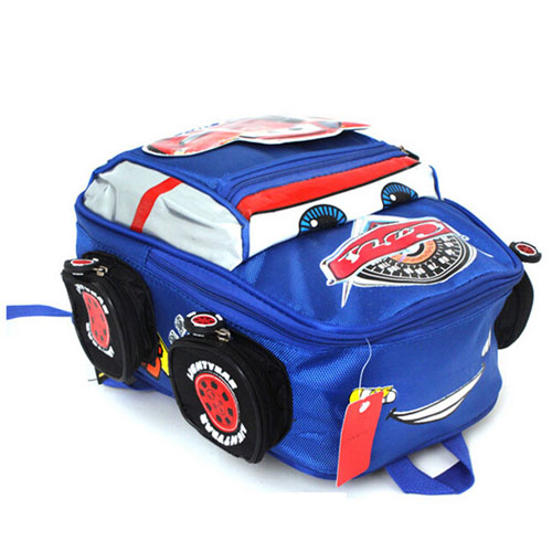 3D Car Anti-Lost Backpack School Kids Image 2