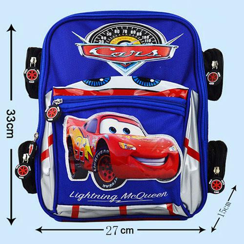 3D Car Anti-Lost Backpack School Kids Image 3
