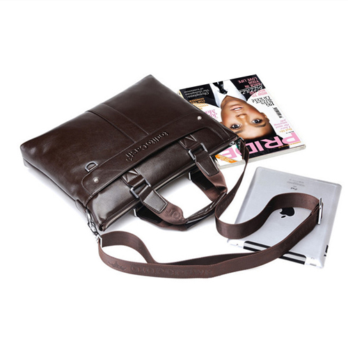 Premium Leather Briefcase Bag Image 1