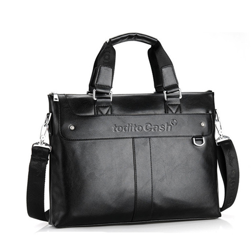 Premium Leather Briefcase Bag Image 5