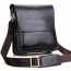 PU Leather Crossbody Business Bag for Man