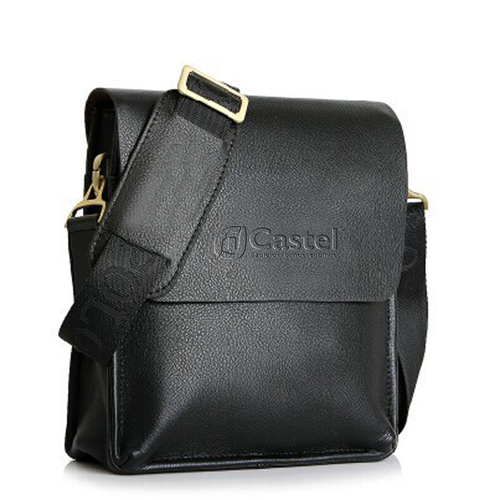 PU Leather Crossbody Business Bag for Man Image 1