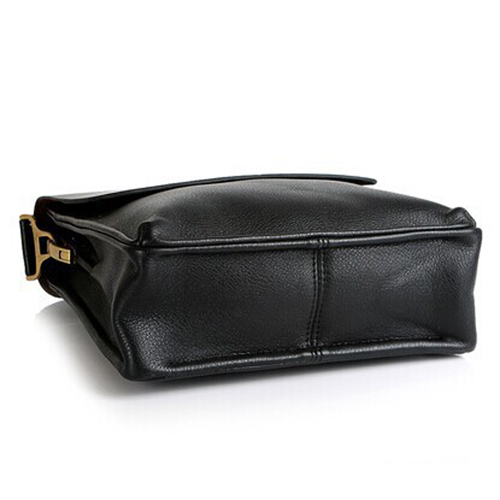 PU Leather Crossbody Business Bag for Man Image 2