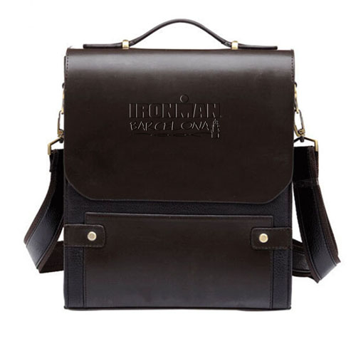 Business Folder Leather Messenger Bag