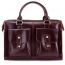 Portafolios Maleta Solid Leather Bag