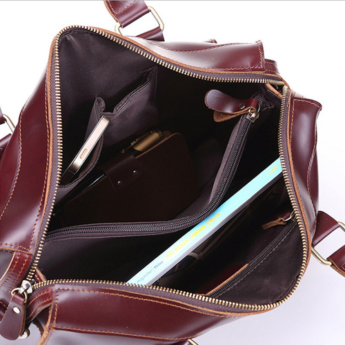 Portafolios Maleta Solid Leather Bag Image 2