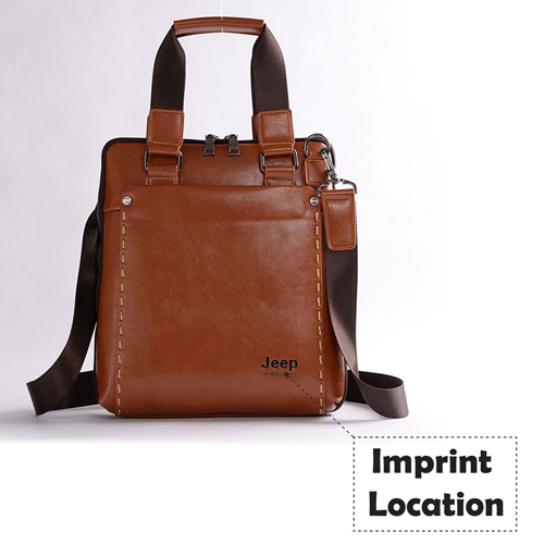England Casual Style Leather Bag Imprint Image
