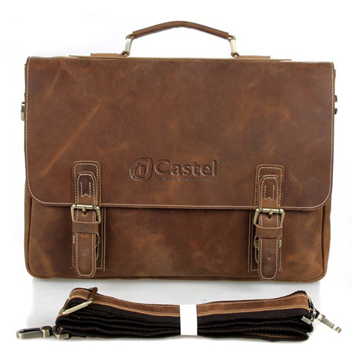 Maxwell Vintage horsehide Leather Laptop Bag Image 1