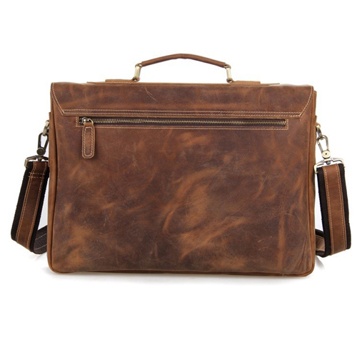 Maxwell Vintage horsehide Leather Laptop Bag Image 3
