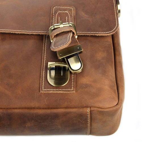 Maxwell Vintage horsehide Leather Laptop Bag Image 4