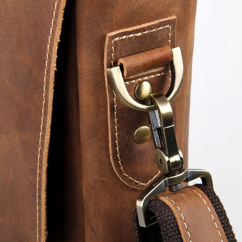 Maxwell Vintage horsehide Leather Laptop Bag Image 5