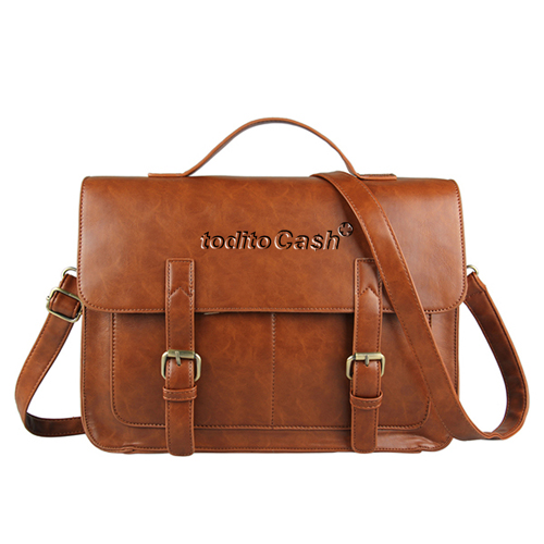 Vintage Horsehide Mad Briefcase Bag
