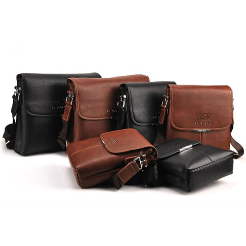 Briefcase Casual Leather Bag Image 2