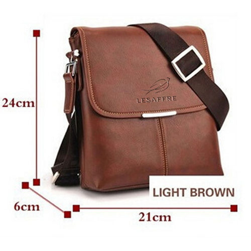 Briefcase Casual Leather Bag Image 3