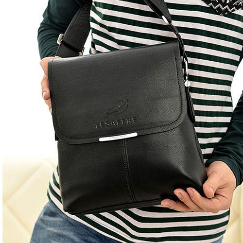 Briefcase Casual Leather Bag Image 5
