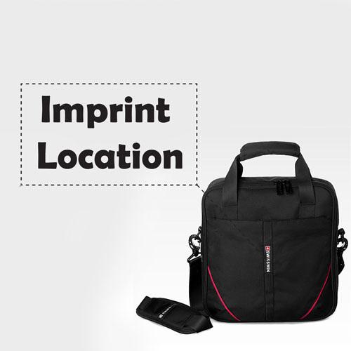 Waterproof Oxford Zipper Travel Bags Imprint Image