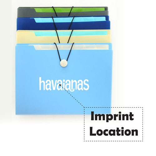 Paragraph A4 Document Folder Bag Imprint Image