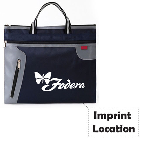 Portable A4 Canvas Bag Imprint Image