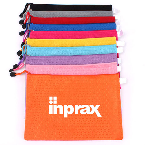 File Locking Stationery Zipper Bag Image 1