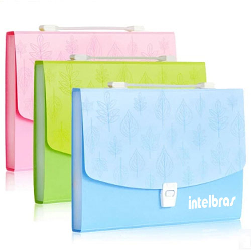 Multilayer Plastic A4 Business Bags