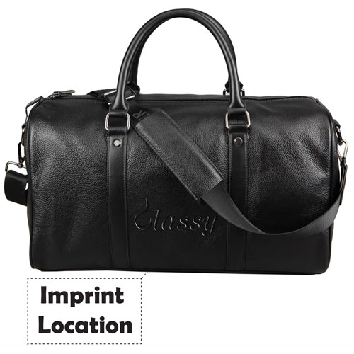 Waterproof Leather Large Capacity Luggage Duffle Bag