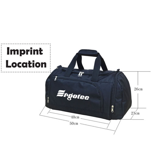 Waterproof Outdoor Travel Duffle Sports Bag Imprint Image