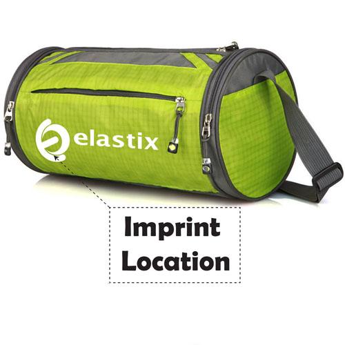 Unisex Nylon Fashion Design Sport Gym Bags Imprint Image