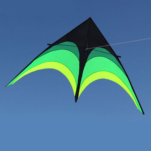 Umbrella Cloth Triangle Kite with Long Ribbon Image 3