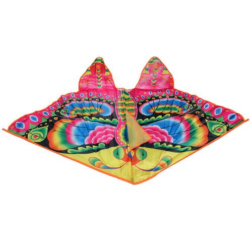 Foldable Colorful Butterfly Kite With Handle Image 1
