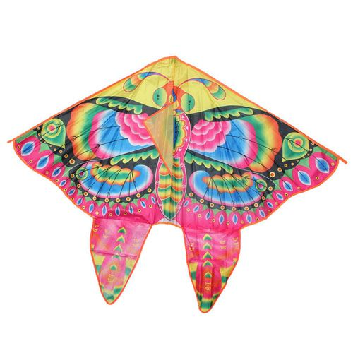 Foldable Colorful Butterfly Kite With Handle Image 2