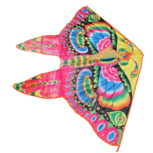 Foldable Colorful Butterfly Kite With Handle Image 3