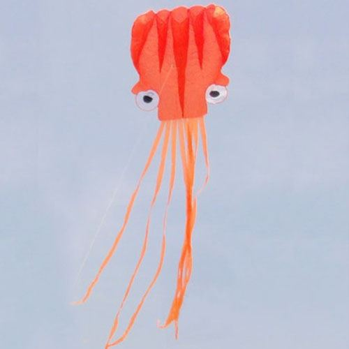 Octopus Soft Kite with Handle line Image 1