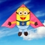 Minions Kite with Handle Line for Children Image 1