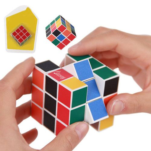 Rainbow Magic Cube Puzzle for Children