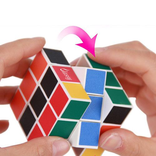 Rainbow Magic Cube Puzzle for Children Image 1