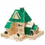 Construction 3D Wooden House Puzzle