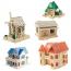 Construction 3D Wooden House Puzzle Image 3