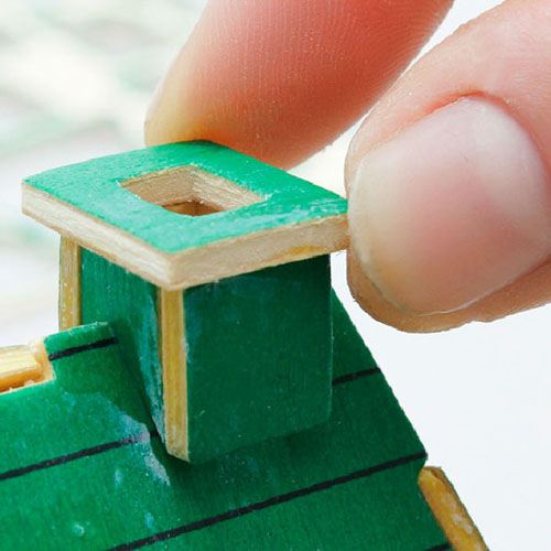 Construction 3D Wooden House Puzzle Image 4
