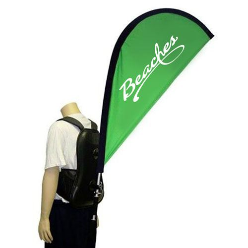 Marketing and Advertising Teardrop Backpack Banner Image 1